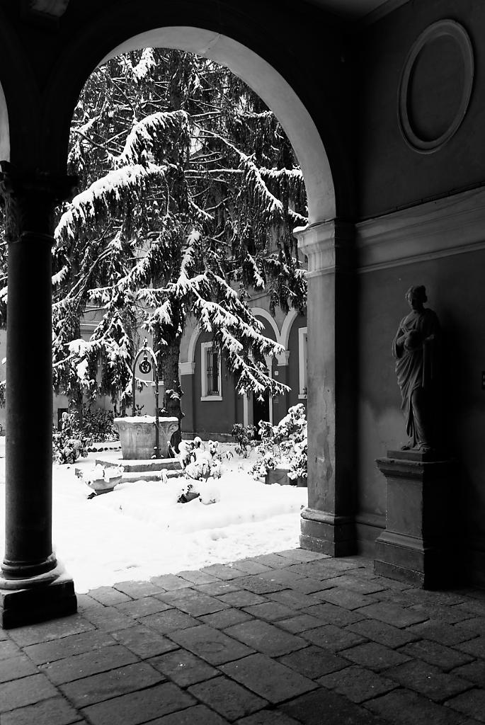 L'ingresso di Palazzo Balbo