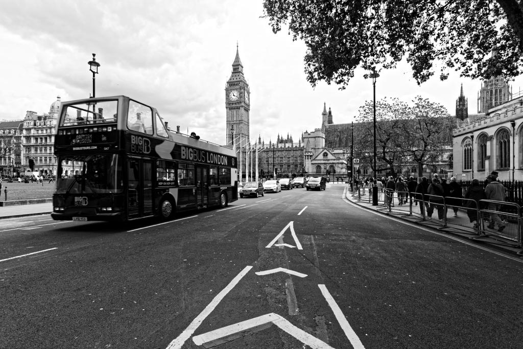 Big Ben e Big Bus
