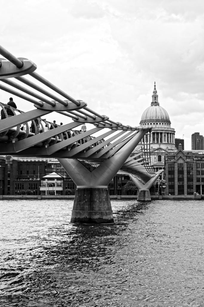 Londra in bianco e nero